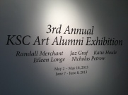 Carroll House Gallery, Keene State College Alumni Exhibition 2013