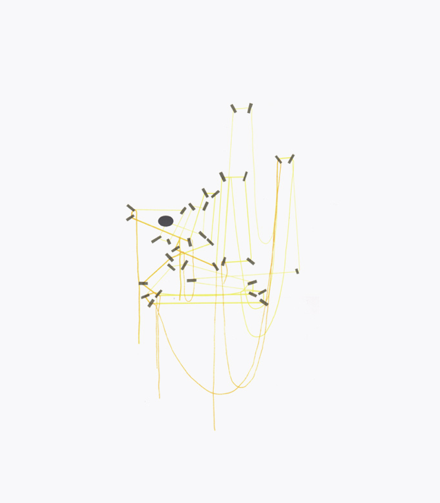 String and Tape Silkscreen series by Jeff Kulak
